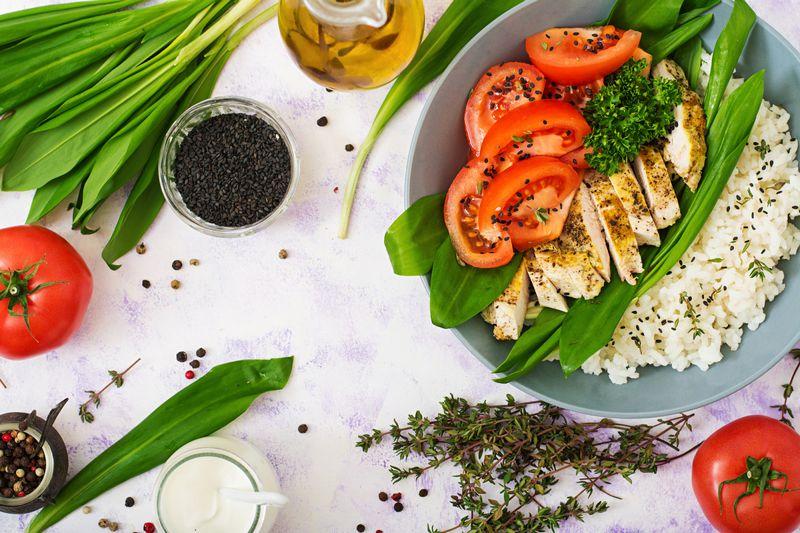 Здоровое и правильное питание для похудения